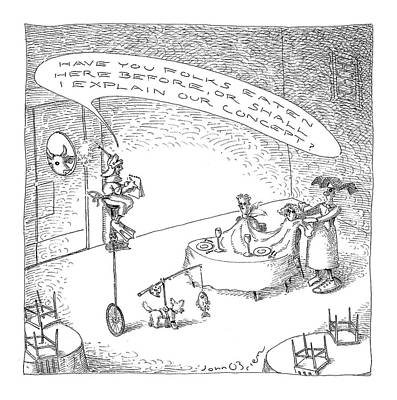 New Yorker October 18th, 2004 Art Print by John O'Brien