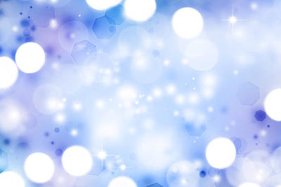 Blue Background Digital Art - Abstract Background by Les Cunliffe