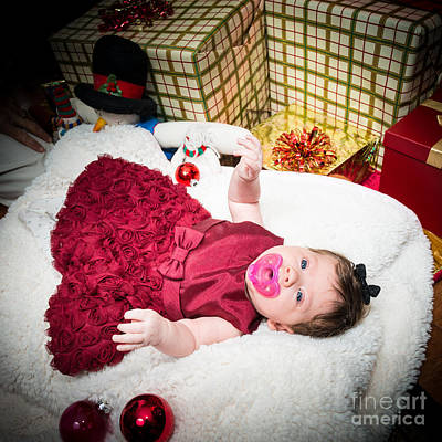 Photograph - Baby Gianna by Jim DeLillo