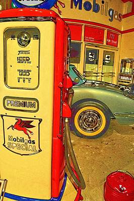 Photograph - 32 Cents A Gallon by Jan Amiss Photography