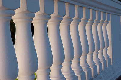 Balusters Photograph - Dominican Republic, Punta Cana, Higuey by Lisa S. Engelbrecht