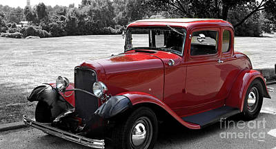 32 Ford Coupe Charmer Art Print