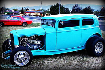 Photograph - 32 Ford Victoria Two Door by Bobbee Rickard