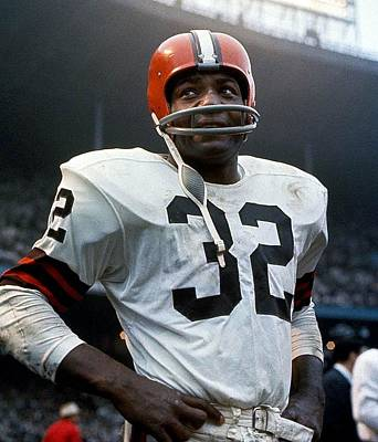 #32 Jim Brown Art Print