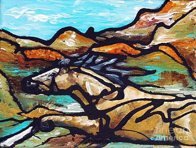 Painting - #32 June 23rd by Jonelle T McCoy
