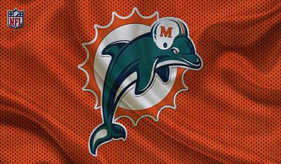 Miami Dolphins Photograph - Miami Dolphins by Joe Hamilton