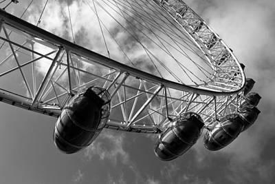 Thomas Kinkade Royalty Free Images - The London Eye Royalty-Free Image by David Pyatt