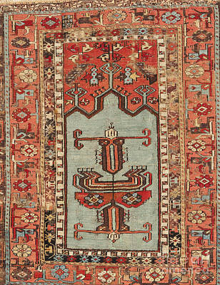 Persian Carpet Photograph - Turkish Carpet by Emirali  KOKAL