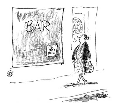New Yorker November 29th, 2004 Art Print by Robert Weber