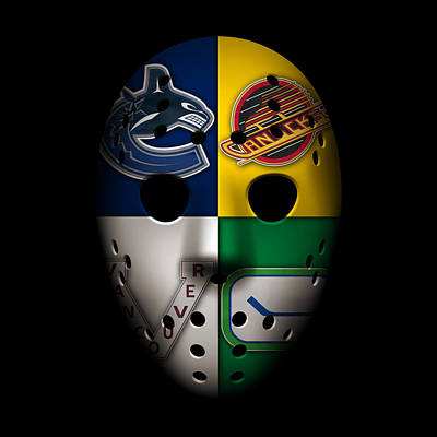 Galaxies Photograph - Vancouver Canucks by Joe Hamilton