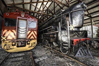 Photograph - 321 And 523 by Wayne Sherriff