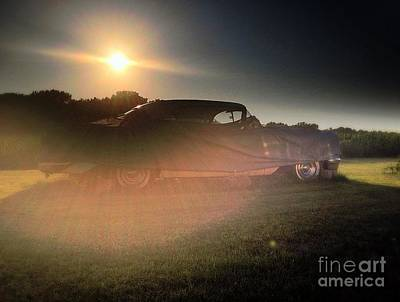 Photograph - 322 Olds Ghost by Garren Zanker