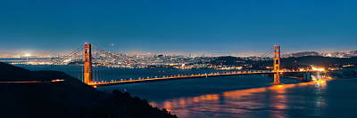 American West - Golden Gate Bridge by Songquan Deng