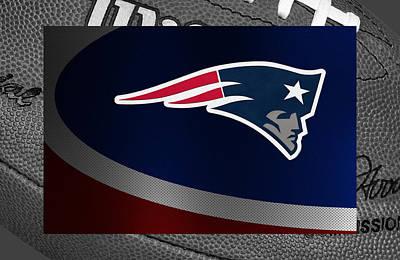 New England Patriots Art Print by Joe Hamilton