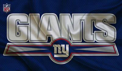 Ball Photograph - New York Giants by Joe Hamilton