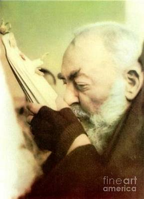 Padre Pio Photograph - Padre Pio by Archangelus Gallery
