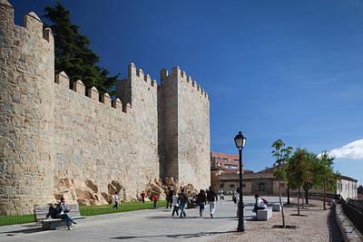 Spain, Castilla Y Leon Region, Avila Art Print by Walter Bibikow