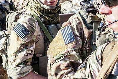 Photograph - United States Army Rangers by Oleg Zabielin