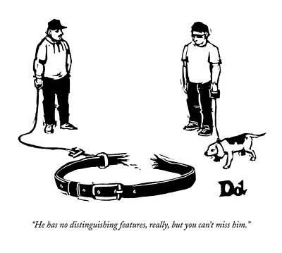 New Yorker September 28th, 2009 Art Print by Drew Dernavich