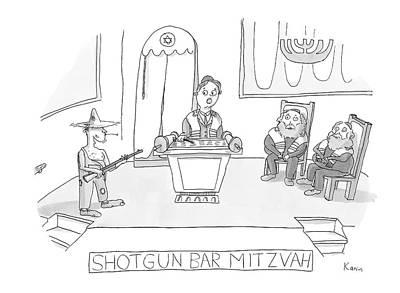 Zachary-kanin Drawing - New Yorker April 23rd, 2007 by Zachary Kanin