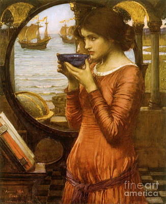 Youthful Painting - Victorian Art Piece by Indian Summer