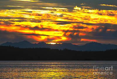 Photograph - 333 Marine Sunrise by Robert Bales