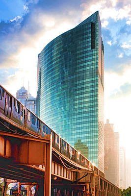 Painting - 333 W Wacker Drive by Christopher Arndt