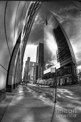 Photograph - 333 Wacker Edge by David Bearden