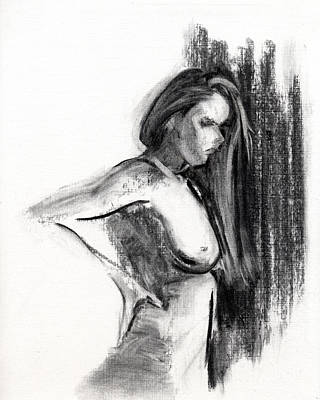 Female Figure Painting - Rcnpaintings.com by Chris N Rohrbach