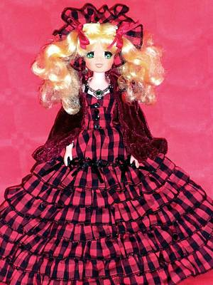 Candy Candy Doll Photograph - Candy Candy Polistil Vintage Doll by Donatella Muggianu