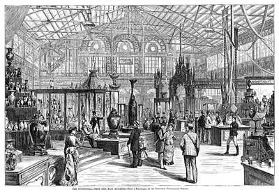 Painting - Centennial Fair, 1876 by Granger