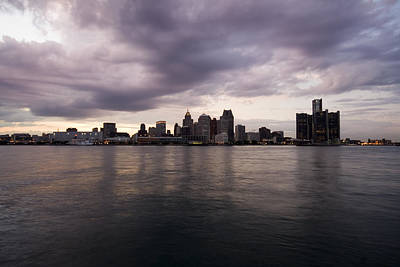 Detroit Skyline Art Print by Gary Marx