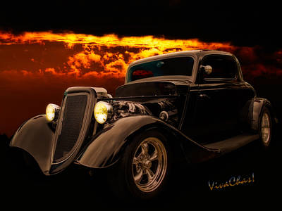 Holiday Mugs 2019 - 34 Ford Coupe Back in Black by Chas Sinklier
