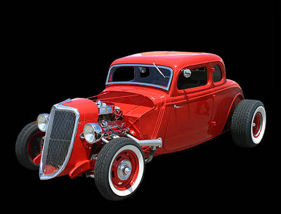 Photograph - 34 Ford Coupe by Jack Pumphrey