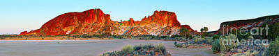 Clay Photograph - Rainbow Valley by Bill  Robinson