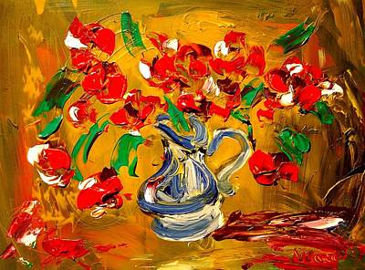 Harlow Painting - Roses by Mark Kazav