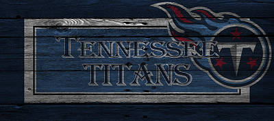 Tennessee Photograph - Tennessee Titans by Joe Hamilton