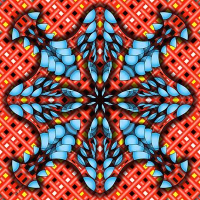Digital Art - 3400 22 by Brian Johnson