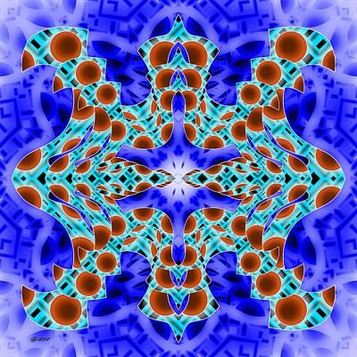 Digital Art - 3400 30 by Brian Johnson