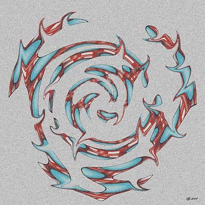Digital Art - 3400 34 by Brian Johnson