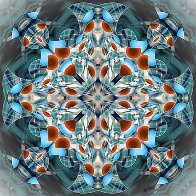 Digital Art - 3400 6 by Brian Johnson