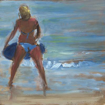 Summer Fun Painting - Rcnpaintings.com by Chris N Rohrbach