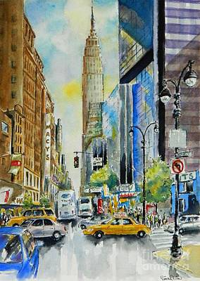 34th St. And 8th Ave Art Print