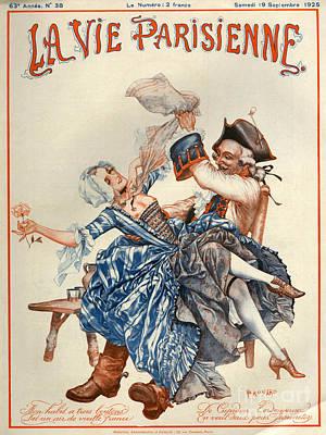 1920s France La Vie Parisienne Magazine Art Print by The Advertising Archives
