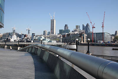 Tower Of London Photograph - 20 Fenchurch Street by Ash Sharesomephotos