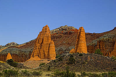 Photograph - Capitol Reef National  Park Cathedral Valley by Mark Smith