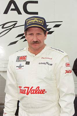 Iroc Photograph - Dale Earnhardt by Retro Images Archive