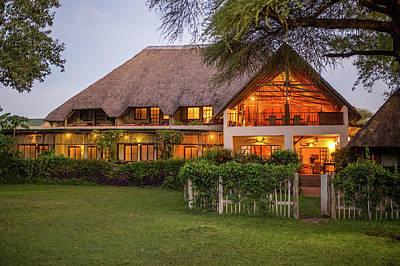 African Resort Photograph - Kasane, Botswana - Chobe National by Edwin Remsberg