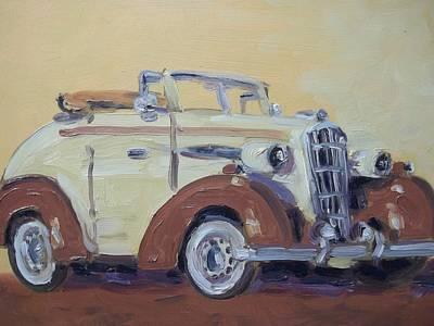35' Oldsmobile Art Print