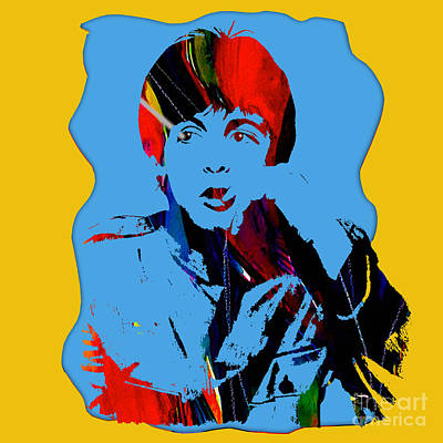 Musician Mixed Media - Paul Mccartney Collection by Marvin Blaine